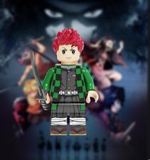 Tanjiro Kamado Demon Slayer Minifigure Kimetsu No Yaiba DC Comics lego MOC