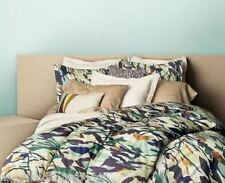 DVF Giant Brush Marks TWIN DUVET COVER SET Priority Ships COTTON SATEEN ABSTRACT