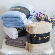 "4 Pack Bath Beach Absorbent Drying Washcloth Shower Towel 30""x60"""