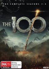 The 100 : Season 1-4 (DVD, 2017, 14-Disc Set)