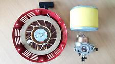FARMERTEC Carburetor Air Filter & Recoil Fits  Honda  GX390 13HP