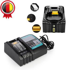 Akku für Makita BL1850 5.0AH 18V BL1830B DMR106 DMR107 DMR112 DMR115  Ladegerät