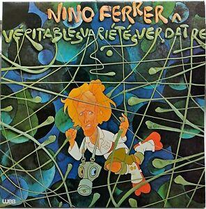 NINO FERRER véritable variétés verdâtres - LP vinyle 33T WEA 58496