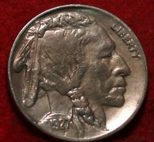 Uncirculated 1927-S San Francisco Mint Buffalo Nickel