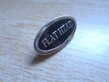 Vintage Flathead Harley Davidson Motorcycle Pin HD Vest Jacket Hat Shirt Badge