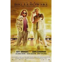 "THE BIG LEBOWSKI - MOVIE POSTER - COEN BROTHERS - 91 x 61 cm 36"" x 24"""
