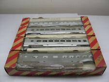 4 Vintage Penn Line Passenger Car Kits Near Mint