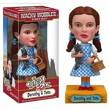 5 Wizard Of OZ Bobblehead Nodders Dorothy Toto Scarecrow Monkey Lion Funko Wacky