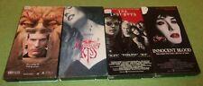 4 Vampire VHS Lot  Innocent Blood Midnight Kiss Tale of Vampire Lost Boys Horror