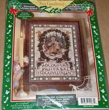 "Teresa Wentzler Xmas ""Father Winter"" Santa / Reindeer Cross Stitch Sampler Kit"