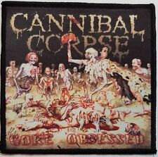 Cannibal Corpse - Gore Obsessed  -  printed patch - FREE SHIPPING