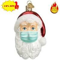 Christmas Tree Ornaments 2020 Santa Wearing Hanging DIY Decor Xmas NEW