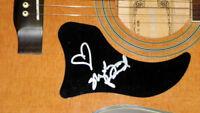 Shelly Fairchild Autographed Signed Natural Acoustic Guitar UACC AFTAL