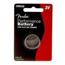 50 x Fender Knopfzelle CR2032 - 3V Performance Lithium Batterie