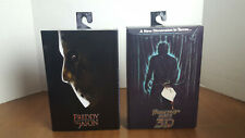 """New listing (2) Neca 7"""" Friday the 13th Part 3 3D & Freddy Vs Jason Voorhees New"""