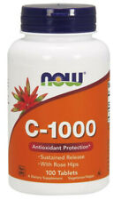 Vitamin C-1000 with Rose Hips & Bioflavonoids  - 100 tabs