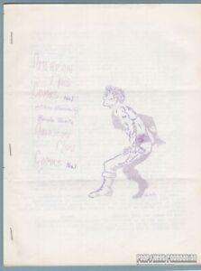 AMERICAN MAN COMICS #1 comic fanzine BERNIE BUBNIS illustrated fiction zine 1963