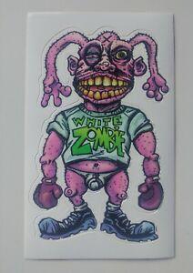 White Zombie Vintage 1996 Album Promo Vinyl Sticker Decal Postcard