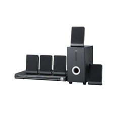 Sylvania Curtis 5.1 Channel Progressive Scan DVD Mini Bookshelf Home Theater Spe