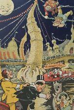Vintage Postcard Art Style of Winsor McCay Little Nemo Luna Park Comic Unsigned