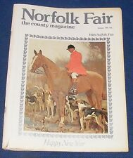 NORFOLK FAIR MAGAZINE JANUARY 1981 - YARMOUTH AND THE CINQUE PORTS