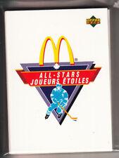 91/92 UD MCDONALDS ALL STARS COMPLETE 24 CARD SET
