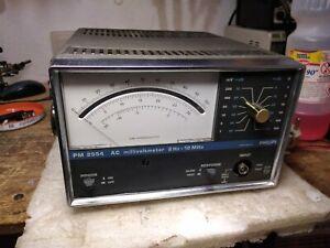 Philips PM-2554 AC Millivoltmeter