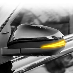 For Toyota Kluger XU50 2014-2019 Side Mirror Dynamic Turn Signal Indicator Light