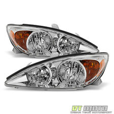 2002 2003 2004 Toyota Camry Headlights Headlamps Replacement 02-04 Left+Right