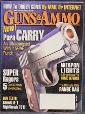 Magazine GUNS & AMMO June 2006 !!! PARA-ORDNANCE Carry GAP .45 GAP PISTOL !!!