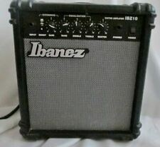 New listing Ibanez Bass Guitar Amplifier Ibz10B Black Musician Band Accessory Works Great!