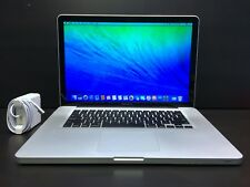 "Apple MacBook Pro 15"" Pre-Retina CORE i7 *3 Year Warranty* 8GB 1TB! OS-2017"