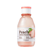 SKINFOOD Premium Peach Cotton Emulsion 140ml [Pore/Sebum/Oily] Peach Sake/KOREA