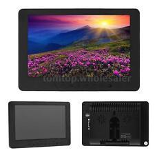 7inch HD 1024x600 TFT LCD Color Car Rear View Backup Monitor Audio Video BNC VGA