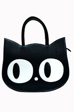 Heart Of Gold Cat HandBag By Banned Apparel