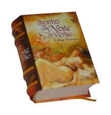 Sonho de uma Noite de Verāo new hardcover Miniature Book portuguese Shakespeare