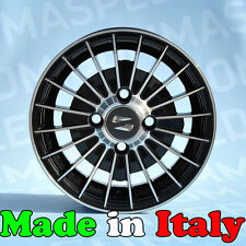 Set 4 cerchi in lega per Fiat 500 126 d'epoca OLD 12 4x98 Figura 612 BP Abarth