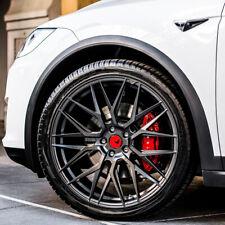 """22"""" Vorsteiner V-FF 107 Forged Concave Graphite Wheels Rims Fits Tesla Model X"""