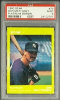 1990 Star Platinum Edition #73 Don Mattingly PSA 9 Mint *Only 5 Graded Higher*