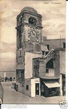 cm 158 Anni 20 - CAPRI (Napoli) Il Campanile - non viagg, - FP  Ed. Brunner Como