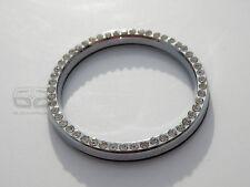 Cromo Diamante Diamante Anillo de envolvente de botón de arranque Start Stop