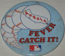 Anaheim Angels Fever..........Catch It! Pin 1980's Has Spots 3""