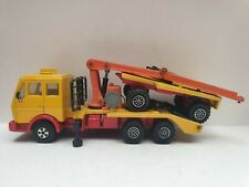 Matchbox Super Kings K-43 Mercedes Log Truck used condition no box and logs