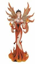 "10.5"" Inch Fire Fairy Statue Figurine Figure Fairies Magic Fantasy Mythical"