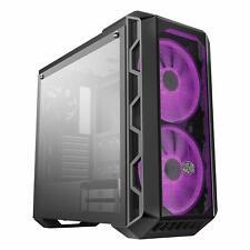 Cooler Master MasterCase H500 ATX Mid Tower Black 3 RGB Fan Gaming Computer Case