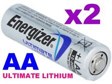 **EXPIRY 2037** 2 x ENERGIZER ULTIMATE AA LITHIUM BATTERIES LR6 L91 NEW 1.5v NEW