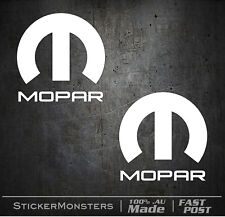 Mopar Chrysler Hemi Sticker Decal 2XPack 60mm Car Phone Laptop Tablet Colours