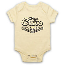 WIGAN CASINO UNOFFICIAL NORTHERN SOUL MUSIC DANCE VENUE BABY GROW BABYGROW GIFT