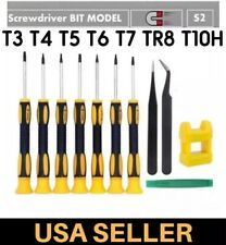 Torx Security Screwdriver Kit T3 T4 T5 T6 T7 T8H T10H For XBOX PS3 4 Set Gaming