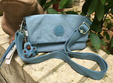 NWT KIPLING Lynne 3-in-1 Crossbody Wristlet Waist Purse (AC8395) - blue